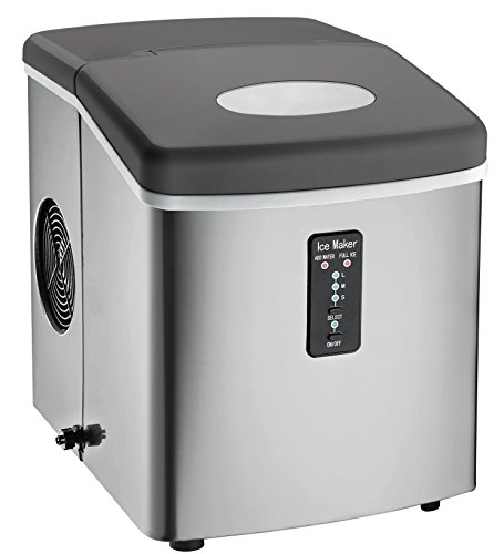 #6 - Igloo ICE103 Counter Top Ice Maker with Over-Sized Ice Bucket