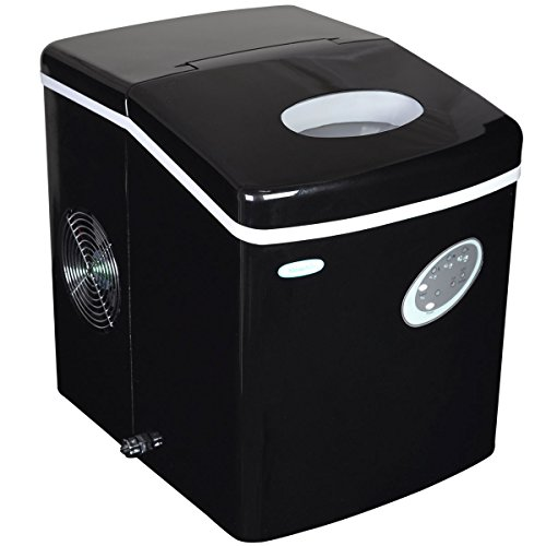 #2 - NewAir AI-100BK 28-Pound Portable Ice Maker, Black