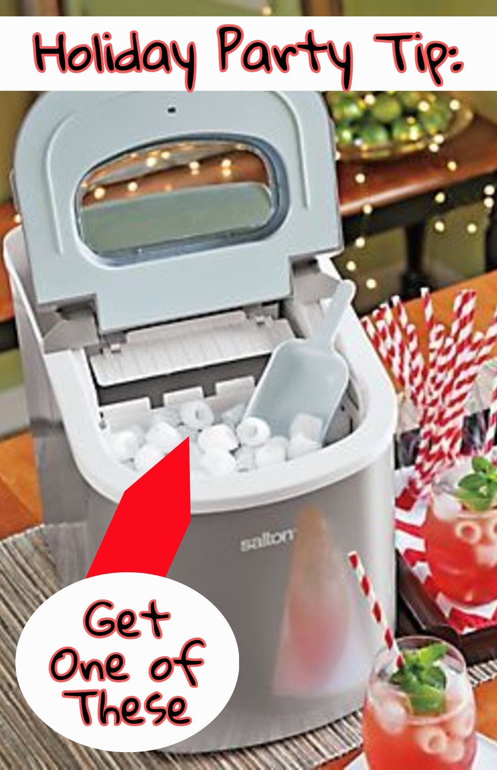Countertop Ice Maker Consumer Reports : PORTABLE ICE MAKER! Seriously, a little countertop ice maker machine ...