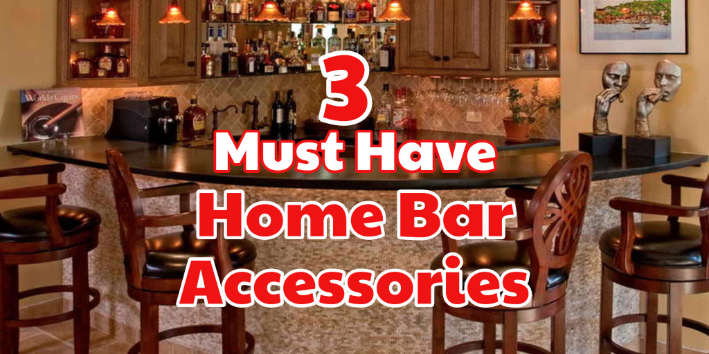 Bar accessories for NEED for a DIY home bar