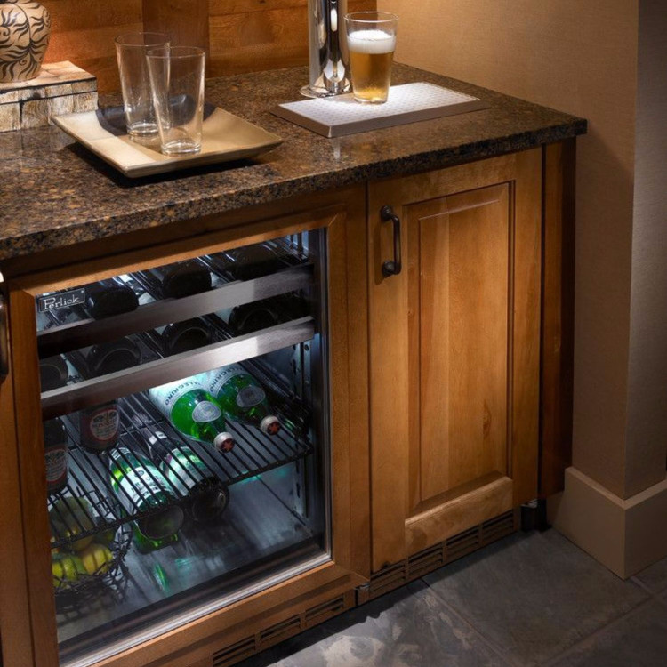 Best home bar refrigerator and refrigerators for bar areas.  small bar refrigerators for basement bar, home bar, wet bar etc.
